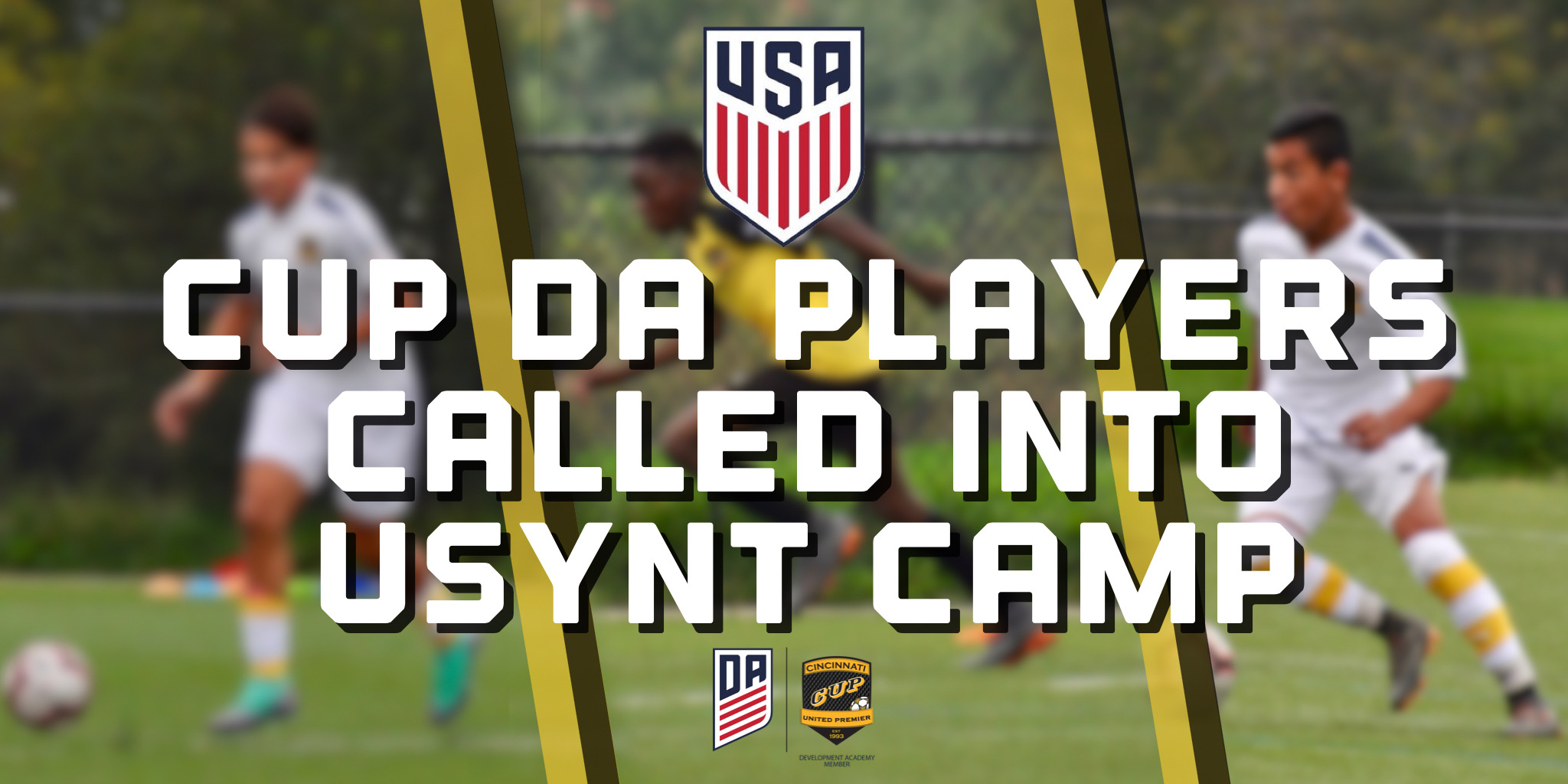 Multiple CUP DA Players Called In For USYNT Camp