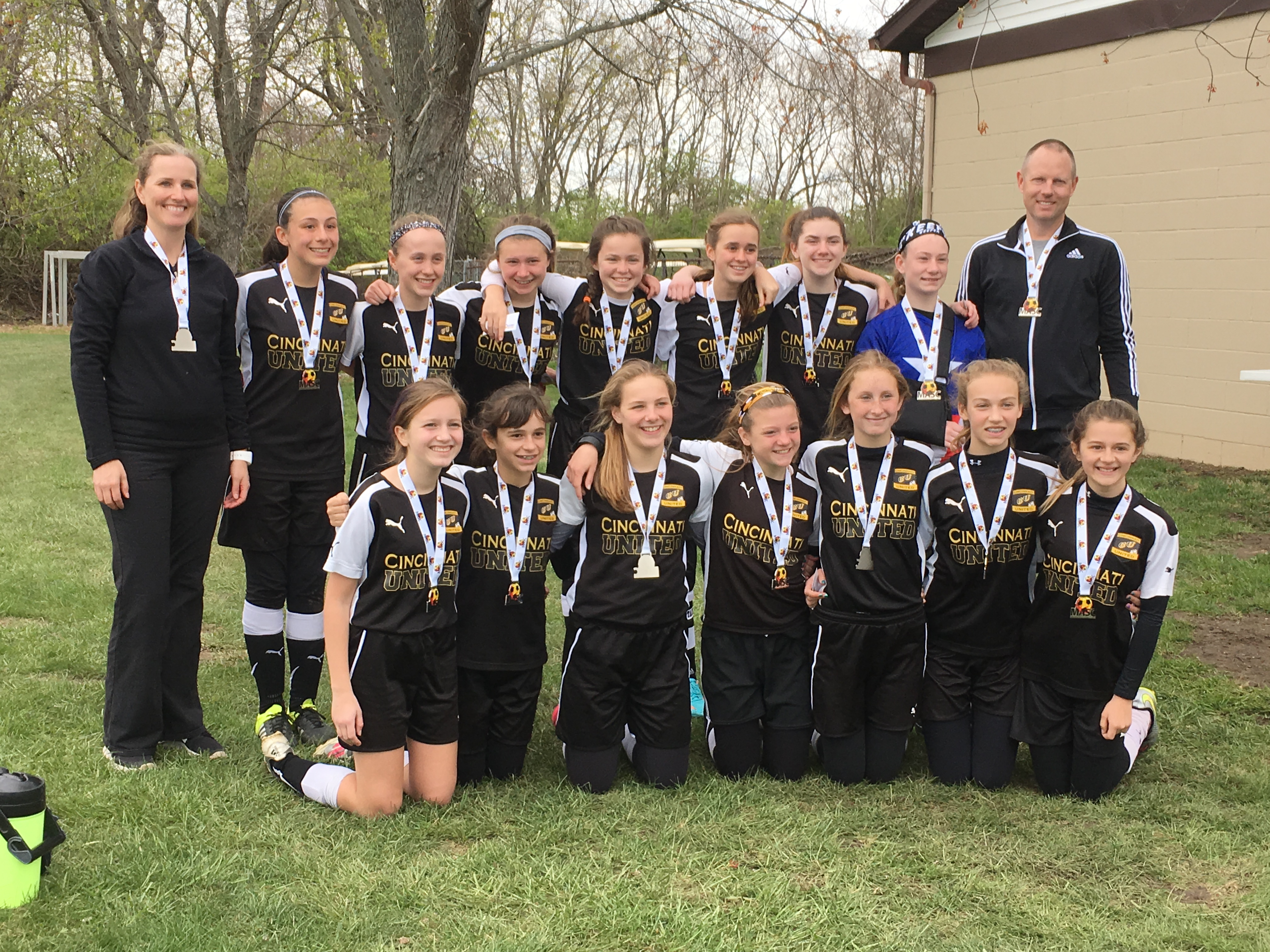 The Girls U13 Real Sociedad team was a Finalist in the MASC Tournament