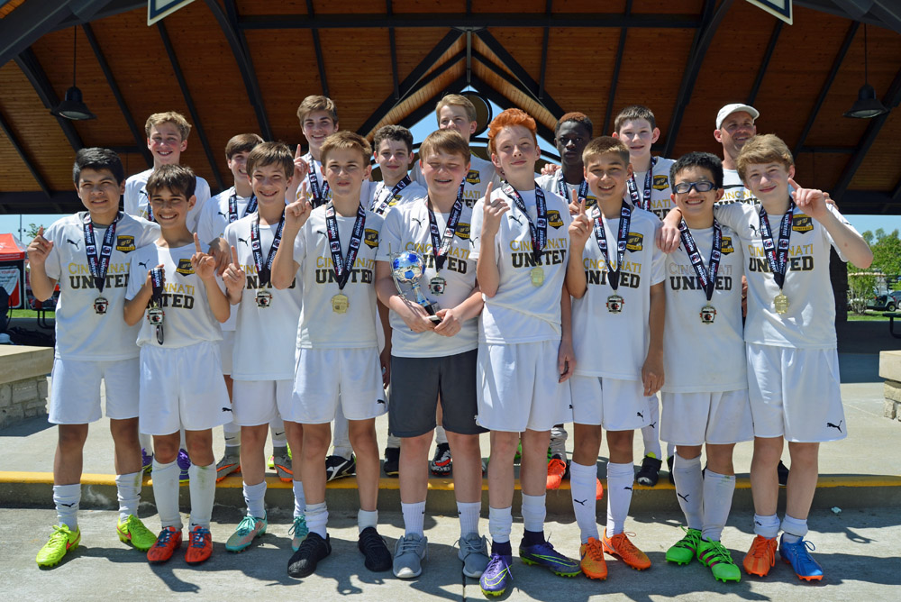 CU Manchester (Boys U14) was the Champion at the Javanon Cup Tournament